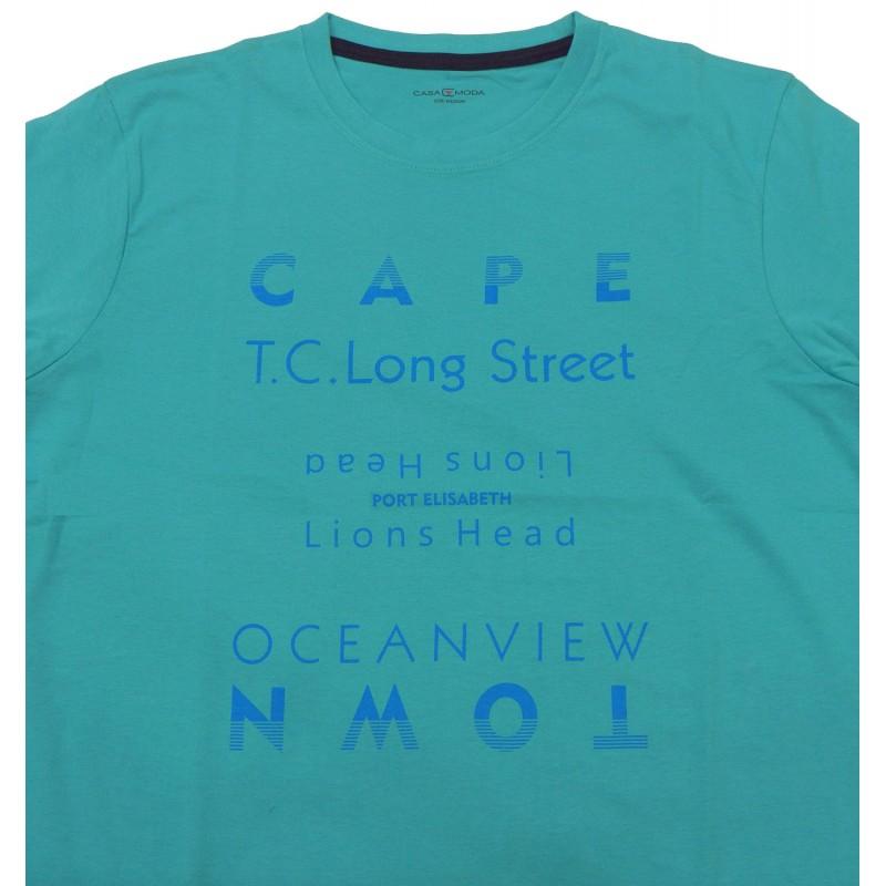 06400-16 CASAMODA T-shirt Πόλο και Τ-shirts Ανδρικα ρουχα - borghese.gr