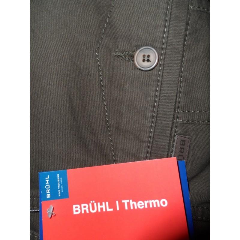 Ανδρικα Παντελονια - X3620-07 Bruhl παντελόνι Thermo φοδραρισμένο Ειδικά Ανδρικα ρουχα - borghese.gr