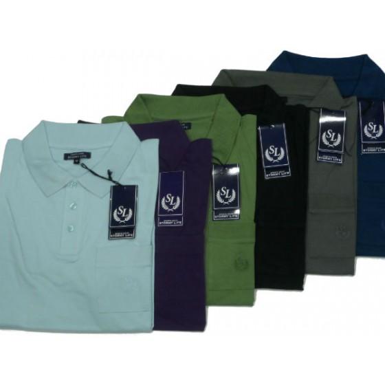 K0029 Polo jersey GIT Πόλο και Τ-shirts Ανδρικα ρουχα - borghese.gr