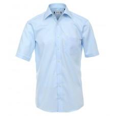 Ανδρικα Πουκαμισα - K8512-24 Arivee πουκάμισο μονόχρωμο κοντό μανίκι Πουκάμισα Ανδρικα ρουχα - borghese.gr