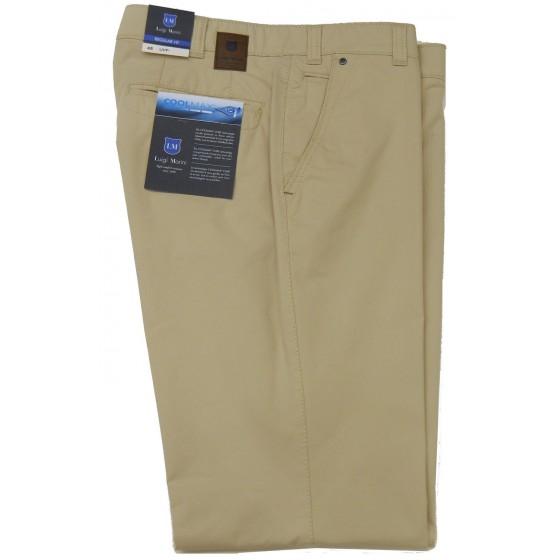 COOLMAX παντελόνι βαμβακερό Luigi Morini