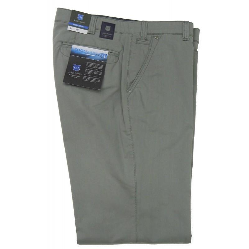 Chinos Παντελονια - A4041-09 Luigi Morini COOLMAX παντελόνι βαμβακερό Chinos Ανδρικα ρουχα - borghese.gr