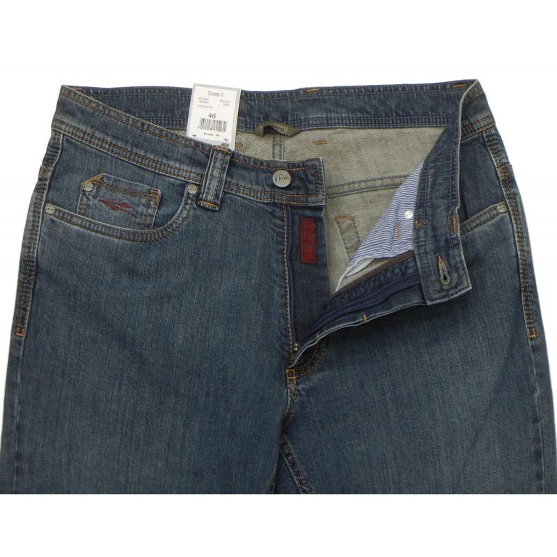 Ανδρικα Παντελονια - K0491-27 Bruhl πεντάτσεπο παντελόνι  5τσεπα και τζινς Ανδρικα ρουχα - borghese.gr