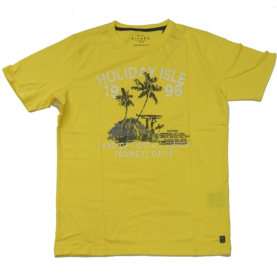 K1119-26 KITARO t-shirt printed Πόλο και Τ-shirts Ανδρικα ρουχα - borghese.gr