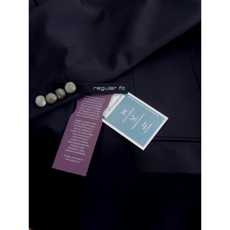 Ανδρικα Σακακια - K2198 Luigi Morini Σακάκι Blazer μπλε  Σακάκια   Ανδρικα ρουχα - borghese.gr