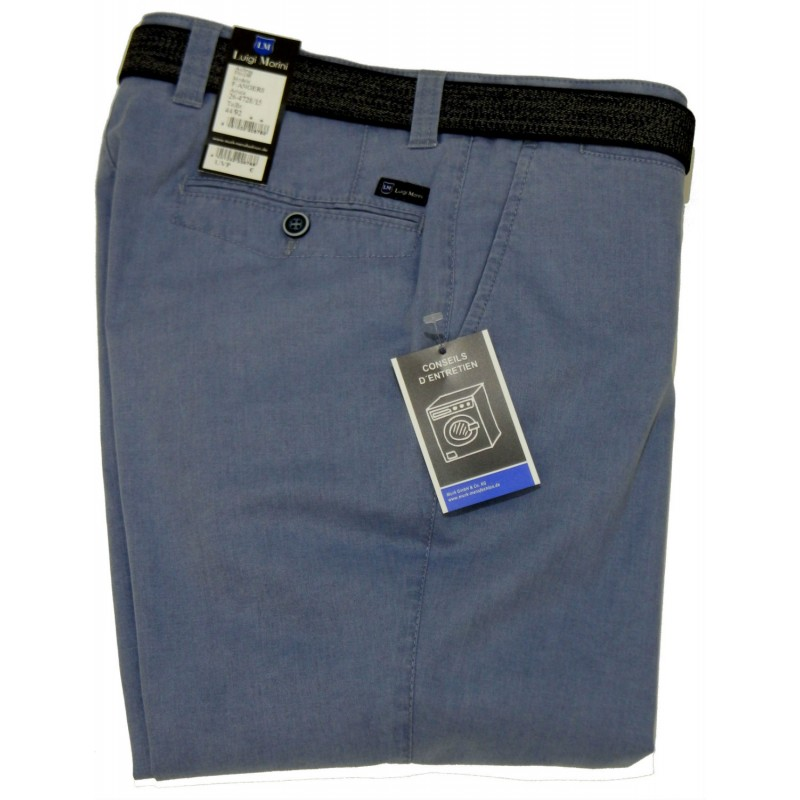 Chinos Παντελονια - K4728 Luigi Morini παντελόνι βαμβακερό Chinos Chinos Ανδρικα ρουχα - borghese.gr