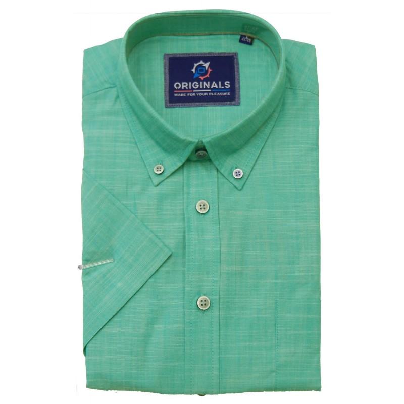 πουκάμισο μονόχρωμο ΚΜ