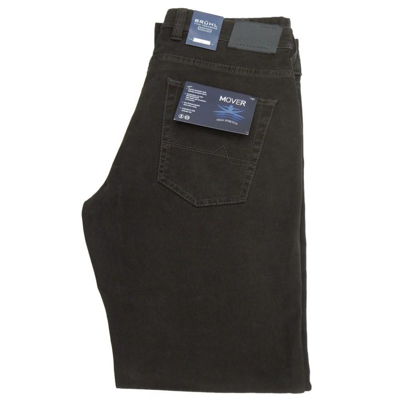 Ανδρικα Παντελονια - X2850-01 Bruhl πεντάτσεπο παντελόνι  5τσεπα και τζινς Ανδρικα ρουχα - borghese.gr