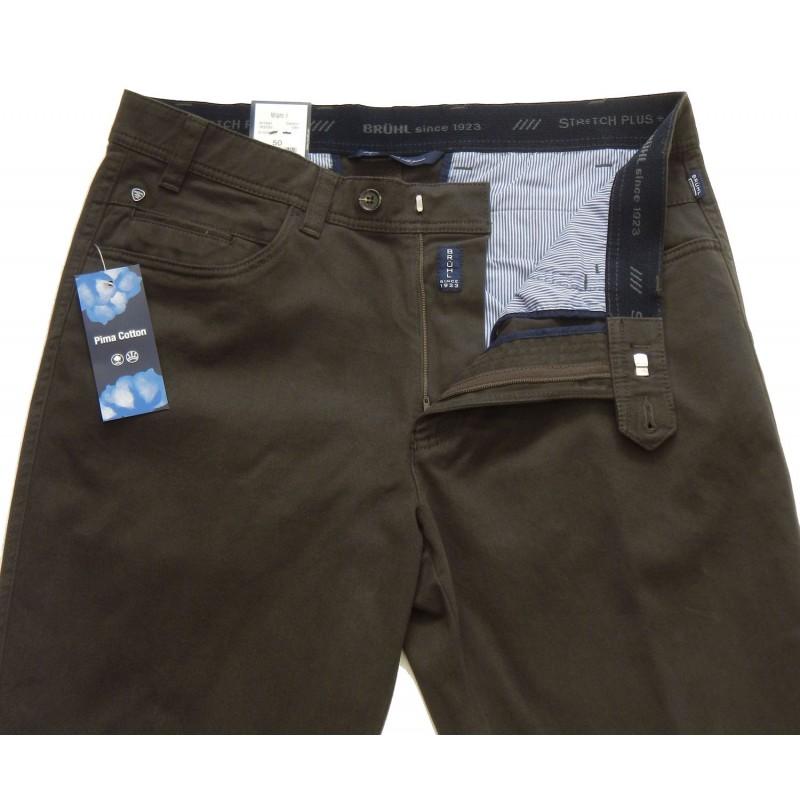 Ανδρικα Παντελονια - X3230-04 Bruhl 5τσεπο παντελόνι Ανδρικα ρουχα - borghese.gr