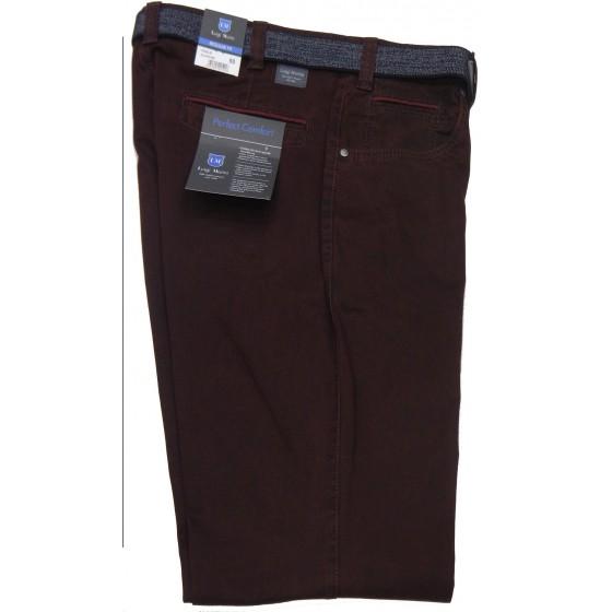 Ανδρικα Παντελονια - X4161-12 Luigi Morini παντελόνι  Τύπου τζιν Ανδρικα ρουχα - borghese.gr