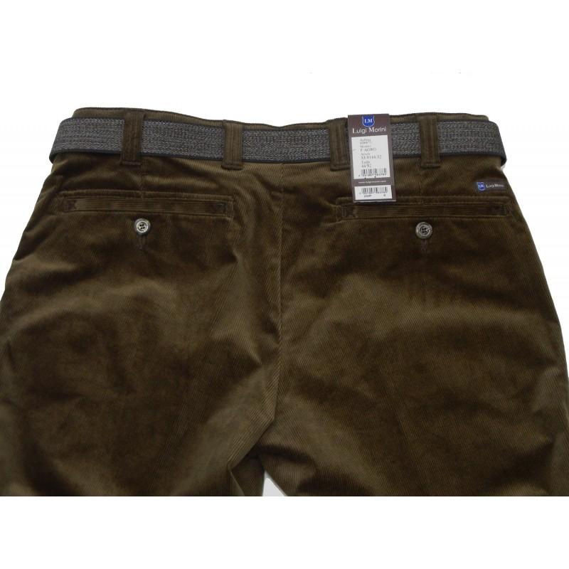 Chinos Παντελονια - X9144-07 Luigi Morini παντελόνι κοτλέ chinos Chinos Ανδρικα ρουχα - borghese.gr